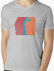 Com Truise, The Decay album cover. Mens V-Neck T-Shirt