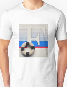 Initial F Nautical style T-Shirt