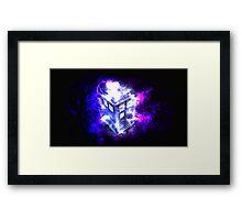 TARDIS! Framed Print
