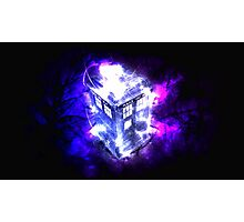 TARDIS! Photographic Print