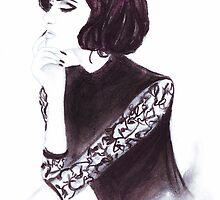 Parisian Lady by FallintoLondon