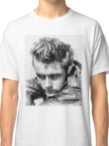 James Dean by John Springfield Classic T-Shirt