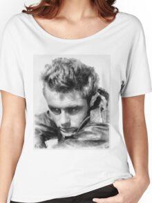James Dean by John Springfield Women's Relaxed Fit T-Shirt