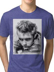 James Dean by John Springfield Tri-blend T-Shirt
