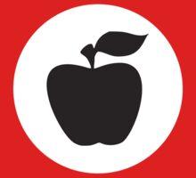German Apple Front (Front Deutscher Äpfel) Kids Clothes