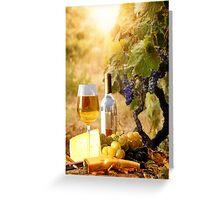 Vineyard Luncheon Greeting Card