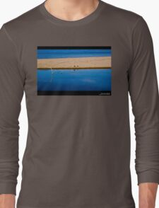 Blue water and land Long Sleeve T-Shirt