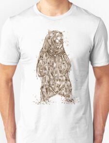 Bearing the Weight of Being a Bear Unisex T-Shirt