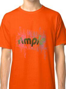 text art Classic T-Shirt