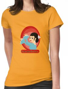 Flamenco Artist Lola Flores Womens Fitted T-Shirt