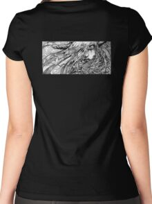 Something wicked this way comes By Jeremy Beswick Studio600© Women's Fitted Scoop T-Shirt