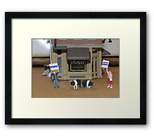 Pulled Pork Framed Print