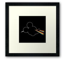 Dark side of the toon Framed Print