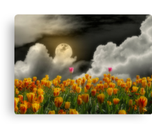 Tip Toe Through the Tulips Canvas Print