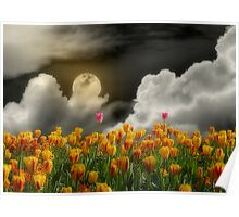 Tip Toe Through the Tulips Poster