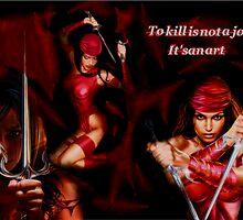 Elektra:The Art Of Killing by Shoogmaster