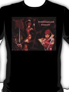 Elektra:The Art Of Killing T-Shirt