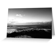 View from Scrabo Tower Greeting Card