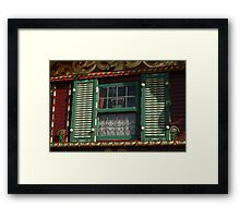Rear Window Framed Print