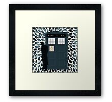 The Doctor and the TARDIS Framed Print
