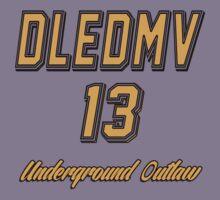 DLEDMV - Underground Outlaw Kids Tee