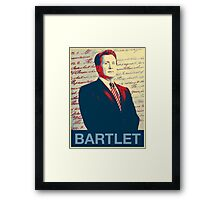 Bartlet Hope Framed Print