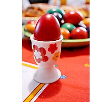Easter egg Photographic Print
