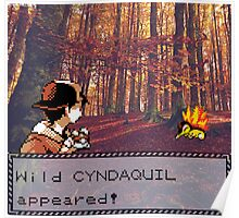 Cyndaquil Encounter Poster