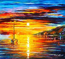 SAILING FOR A DREAM by Leonid  Afremov