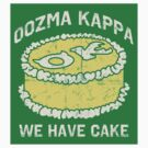 We Have Cake! - Collegiate Sticker by CatchABrick