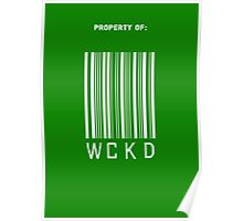 Property of WCKD Poster