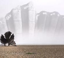 Scallop Sculpture by Nigel Bangert