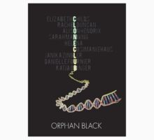 Orphan Black - Clone Club by Duha Abdel.