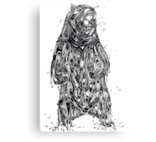 Bearing the Weight of Being a Bear Metal Print
