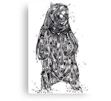 Bearing the Weight of Being a Bear Canvas Print