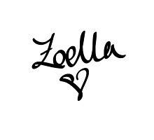 Zoella: YouTuber by ieuanothomas22