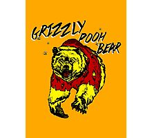 Winnie the Grizzly Pooh Bear Photographic Print