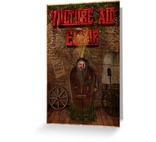 Zombies Vulture Aid Perk Poster - Black Ops 2 Greeting Card