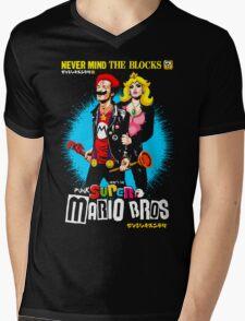 The Sid & Nancy Nintendo Lost Levels Mens V-Neck T-Shirt