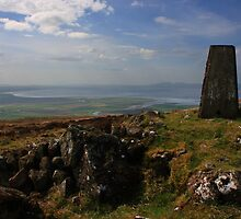 On Binevenagh's Summit by Adrian McGlynn
