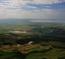 The Roe Valley From Binevenagh by Adrian McGlynn