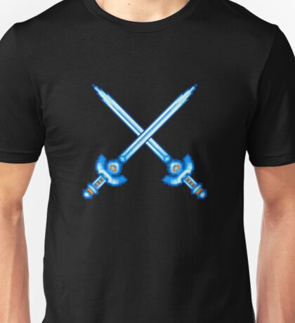 Master Sword pixel crossed - The Legend of Zelda Unisex T-Shirt