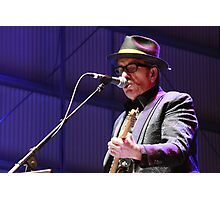Elvis Costello - Deni Blues & Roots 2014 Photographic Print