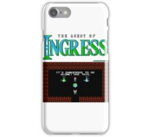 The agent of Ingress iPhone Case/Skin