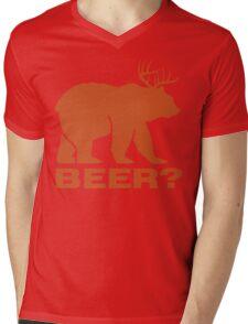 Beer ? Mens V-Neck T-Shirt