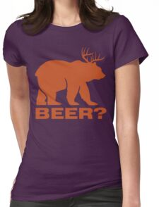 Beer ? Womens Fitted T-Shirt