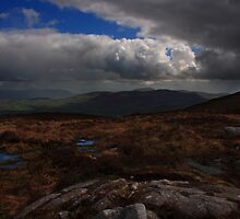 Cooley Mountains From Slieve Gullion by Adrian McGlynn