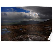 Cooley Mountains From Slieve Gullion Poster
