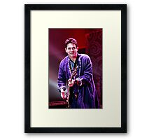John Mayer - musician first and foremost Framed Print