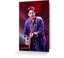 John Mayer - musician first and foremost Greeting Card